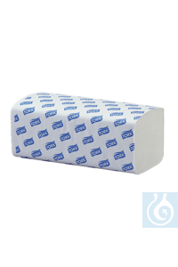 neoLab® Einweg-Handtücher, 2-lagig, weiß, 23 x 25 cm, 160 Bl./Pack Hochwertige Falt-Handtücher...