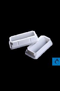 Moonlab® Reagenz-Reservoir 55 ml, steril, weiß, PS, einzeln verpackt, 100 Stk Dieses weiße...