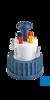 neoLab SafetyCaps für GL 45 Gewinde für 1 Schlauch mit Absperrventil Gewinde...