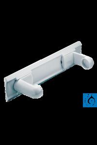 neoLab® variabler Papierrollenhalter aus PP, festklebend Papierrollenhalter...