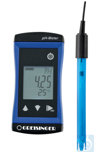 neoLab® wasserdichtes pH Messgerät mit pH-Elektrode, pH 0 bis 14 Das...