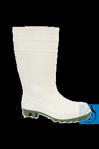 neoLab® Gummistiefel aus PVC mit Stahlkappe, weiß, Gr. 36 neoLab Gummistiefel...