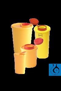 neoLab Kanülen-Abfallbox, 200 ml, AFNOR-Zulassung Sichere, hermetisch...