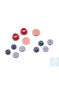 neoLab® Injektionsstopfen aus Chlorobutyl 13 X 7 mm VE 100 St. Nr 2-7240 Hervorragende Qualität...
