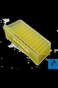 Moonlab® Reagenz-Reservoir 55ml, 12 Abteile, gemischte Farben, PVC, 5 x 5 Stk/Pc...