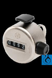 neoLab® Hand-Stückzähler 0-9999, mit Ring Handzähler mit Haltering, zur Stückzählung bis 9.999....