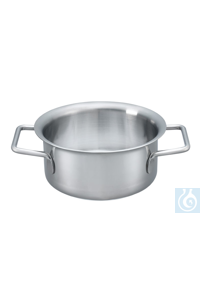 H 1000 H 1000 1 liter stainless steel pot