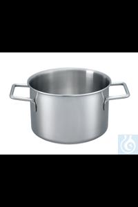 H 3000 H 3000 Beaker, stainless steel, 3 l