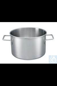 H 5000 H 5000 Beaker, stainless steel, 5 l