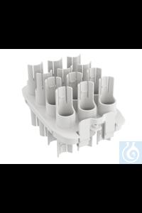 TR 3 Tube insert, 12x15 ml, Ø16 mm   TR 3 Tube insert, 12x15 ml, Ø16 mm