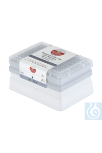 IKA Tip xs box + filter tip, 10 µl, steril, transparent   IKA Tip xs box +...