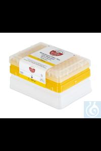 IKA Tip s box + filter tip, 200 µl, steril, transparent   IKA Tip s box +...