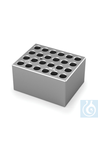 DB 4.2 Single block for Round bottom tubes (10 mm), Pore size 10,7 mm, Depth...