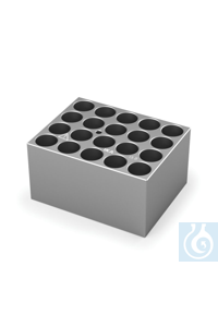 DB 5.2 Single block for 15 mm vials, Pore size 15,8 mm, Depth 35,0 mm    DB...