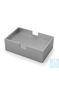 DB 7.1 Double block, for 96 - or 384 - well plate, Depth 13,5 mm 