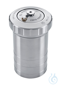 C 5010 Decomposition vessel, standard Material: stainless steel  With fix...