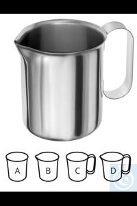 Becher + Ausguß, 1000 ml