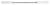 Double spatula, flexible, 130mm