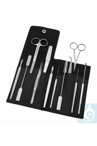 Dissecting set, 12pcs.