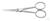 Mikroskopier-Schere 125 mm, stumpf gebogen, geschmiedet