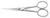 Mikroskopier-Schere 130 mm, spitz gebogen, geschmiedet