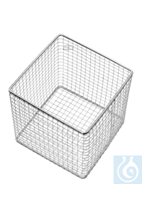 Wire basket, 200 x 200 x 70 mm