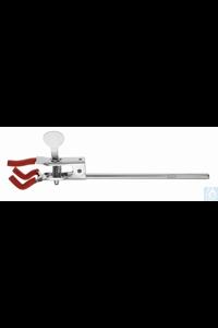 Burette clamp/single with rod Burette clamp/single with rod