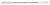 Double spatula 130mm, narrow + stiff