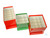 Lagerkassette Typ C 122x240x128 mm,, beschichtet, gelb - 5x10 Lagerkassette Typ C, 122x240x128 mm...