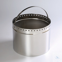 Bucket 400 Bucket, stainless steel, perforated in the upper third for waste...