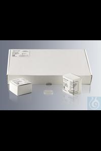 Deckgläser für Mikroskopie 30 mm Ø, Nr. 1 100 St./Schachtel, 1.000 St. im Karton, aus chemisch...