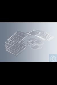 Deckgläser, hydrophobiert, 18 mm Ø, Nr. 1