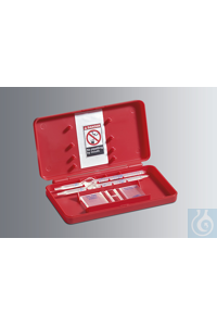 Haemacytometers CE Fuchs-Rosenthal, bright line with double net ruling and 0.2 mm depth, complete...