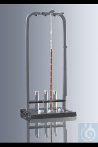 Blutsenkungsständer nach Westergren, für 6 Tests, hergestellt aus rostfreiem Stahl, Bügel besteht...