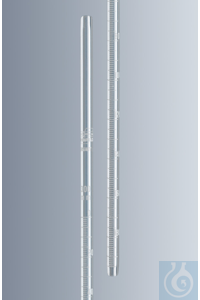 Sedimentation tubes acc. to Westergren made of AR® clear glass, length approx. 300 mm, white...