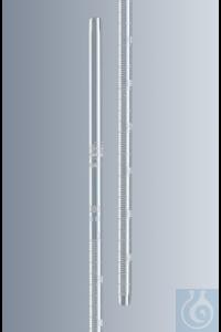 Blutsenkungspipetten nach Westergren, hergestellt aus AR®-Klarglas, Länge ca. 300 mm, mit weißer...