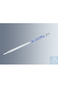 Haemoglobin pipettes acc. to Sahli 20 µl in compliance with DIN ISO 12 689, white back, blue...