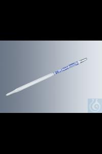 Hämoglobinpipetten nach Sahli 20 µl, gemäß DIN ISO 12 689, weiß belegt, blaue Graduierung, mit...