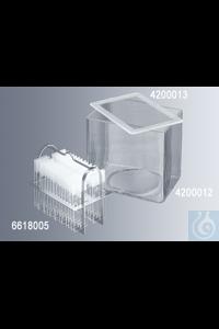 Färbeeinsätze für Hausser/Gedigk Färbesystem rostfreier Stahl, für bis zu 60 Objektträger ca....