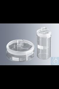 Wägegläser 80x40 mm Ø, Inhalt 70 ml, hohe Form, hergestellt aus Borosilikatglas 3.3, gemäß DIN 12...