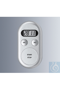 Digi-Timer, electronical interval timer with 4-digit-display for minutes and seconds,...