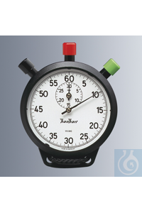 Stopwatch AMIGO, with possibility for interruption and flyback, mechanical wider-key of the...