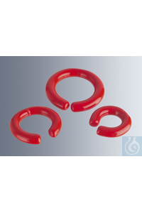 Lead rings for weighing down, 50 mm inside diameter weight 660 g, with strong PVC coating, open C...