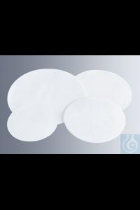 Rundfilter Munktell Sorte 389 Weißpunkt 150 mm Ø geeignet für quantitative Analysen, nahezu...