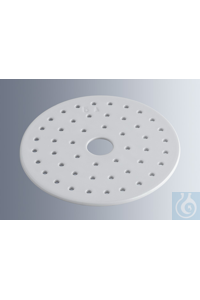 Discs for desiccators 300 mm diameter, made of porcelain, in compliance with DIN 12 911, 290 mm...