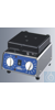 Schüttelgerät Basisteil mit Aufnahmevorrichtung mit opto-elektronischer Nachregelung der...