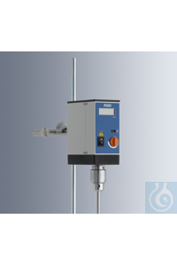 Laboratory stirrers R50D with digital display suitable for reproducibly...