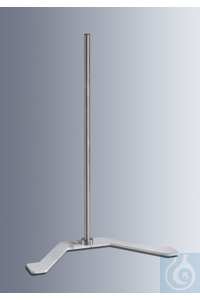 U-Stand for laboratory stirrers, consisting of a heavy base and rod, without...