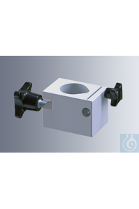 Special clamp for mounting laboratory stirrers to the U-stand