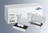 Deckgläser für Mikroskopie 24x24 mm, Nr. 1,5